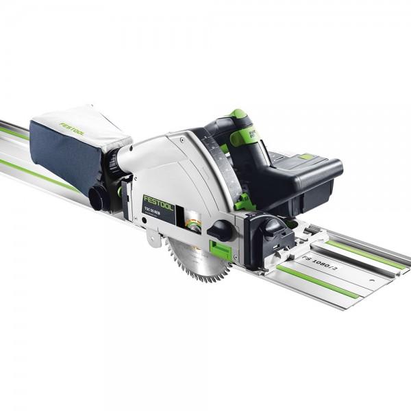Festool TSC 55 REB-PLUS/XL-FS LI Sega ad affondamento a batteria con binario di guida