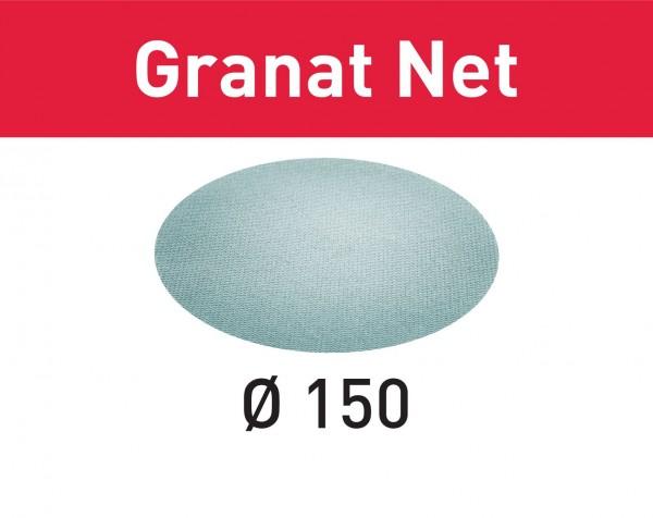 Festool Abrasivo a rete STF D150 P100 GR NET/50 Granat Net