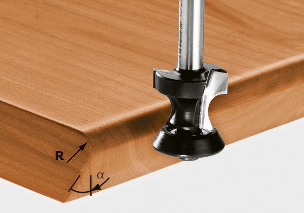 Festool Abrund-/Fasefräser HW S8 D31,4/R6/45°