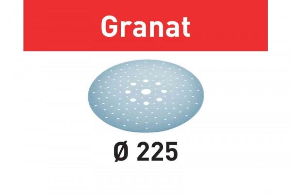 Festool Disco abrasivo Granat STF D225/128 P180 GR/25