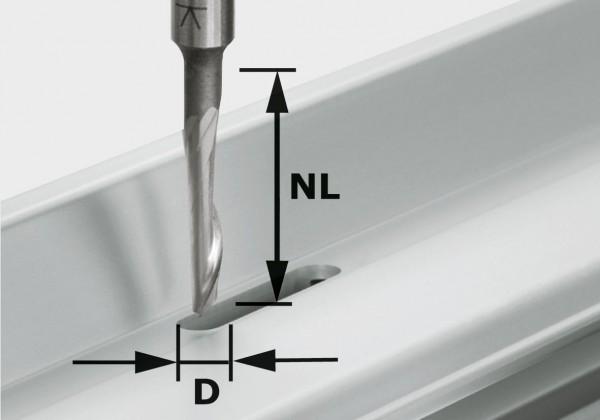 Festool Fresa per alluminio HS S8 D5/NL23
