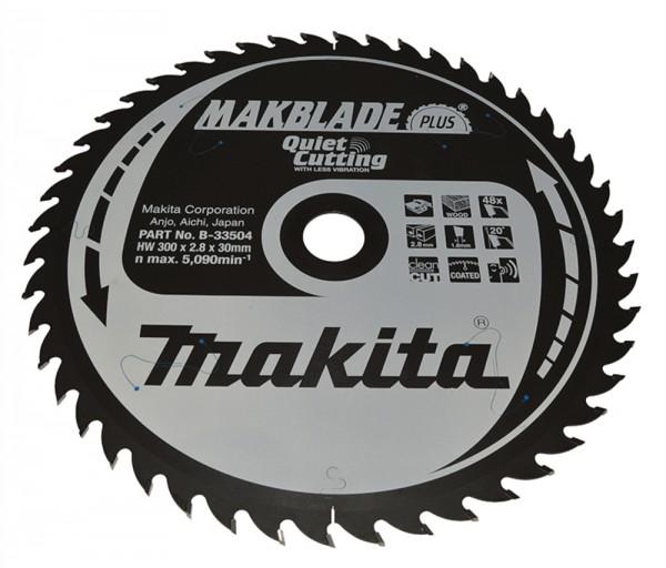 Makita Lama 300x30mm Z=48 MAKBLADE