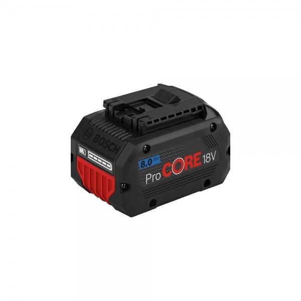 Bosch 18V 4,0 Ah 2 ProCORE Akkus + Schnellladegerät