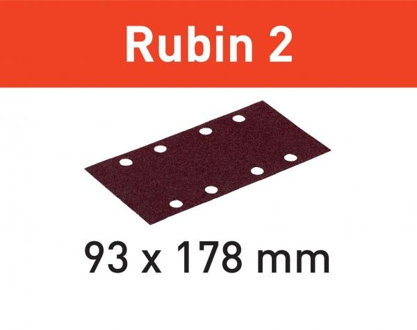 Festool Foglio abrasivo STF 93X178/8 P60 RU2/50 Rubin 2
