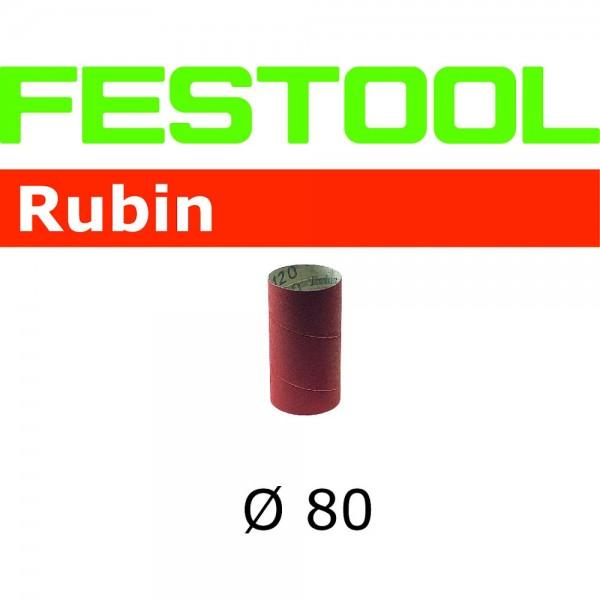 Festool Schleifhülse SH-D80x120/0-P80 RU/8