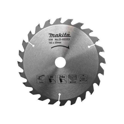 Makita Sägeblatt 165x20mm Z=24
