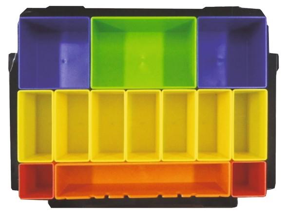 Makita Boxeinsatz mit farbigen Boxen für MAKPAC
