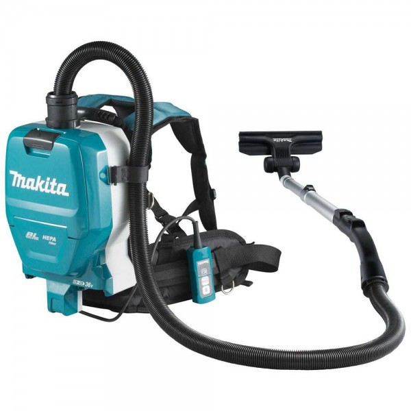 Makita DVC261ZX11 1,5l Aspiratore a zaino a batteria, 2x18V