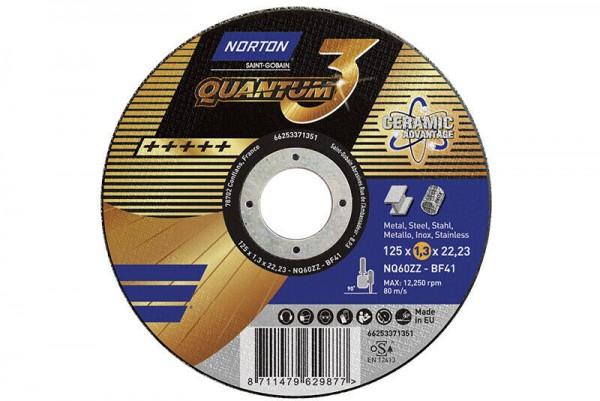 Norton Trennscheibe Quantum3 125x1,3x22.23mm