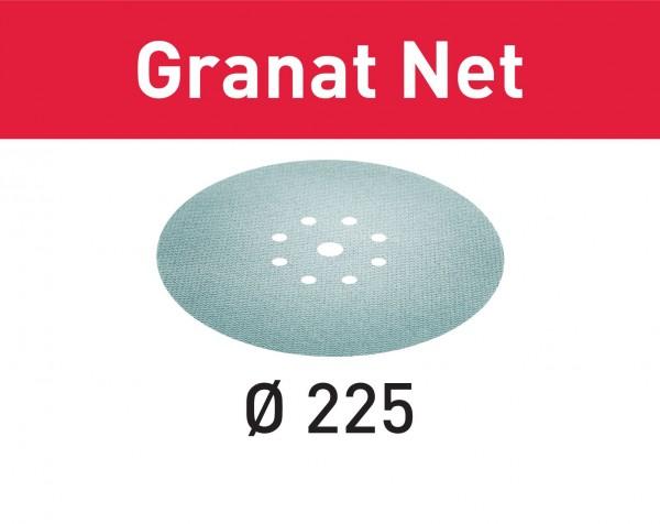 Festool Abrasivo a rete STF D225 P120 GR NET/25 Granat Net