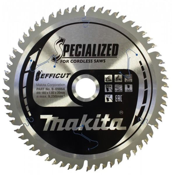 Makita Lama 165X20mm D=60 EFFICUT