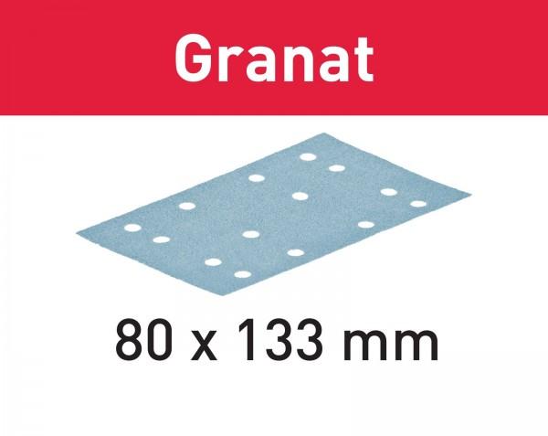 Festool Foglio abrasivo Granat STF 80x133 P220 GR/100