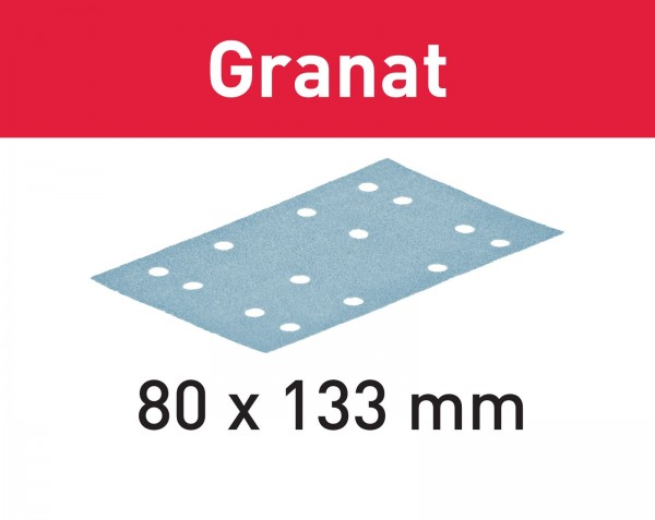 Festool Foglio abrasivo Granat STF 80x133 P320 GR/100