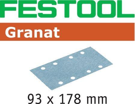 Festool Foglio abrasivo STF 93X178 P100 GR/100 Granat