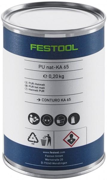 Festool PU nat 4x-KA 65 PU-Klebstoff natur - 4 Stk.