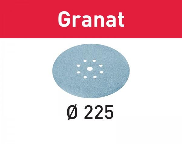 Festool Schleifscheibe STF D225/8 P100 GR/25 Granat