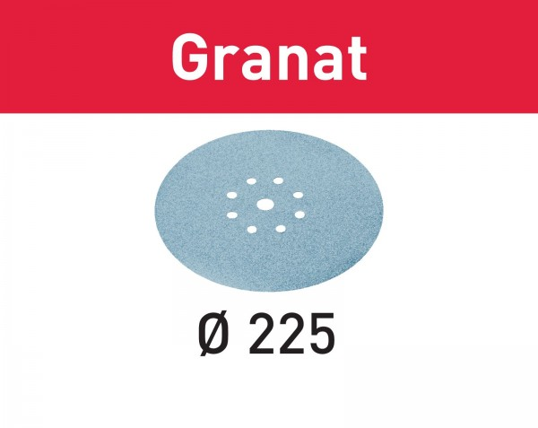 Festool Schleifscheibe STF D225/8 P220 GR/25 Granat