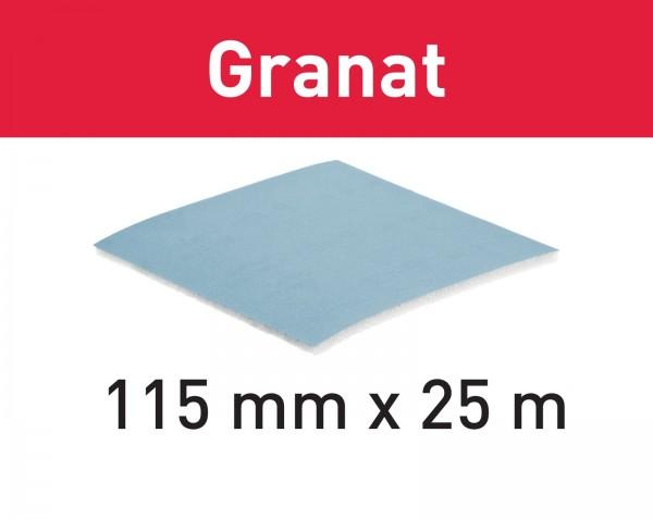 Festool Rotolo abrasivo Granat 115x25m P120 GR SOFT