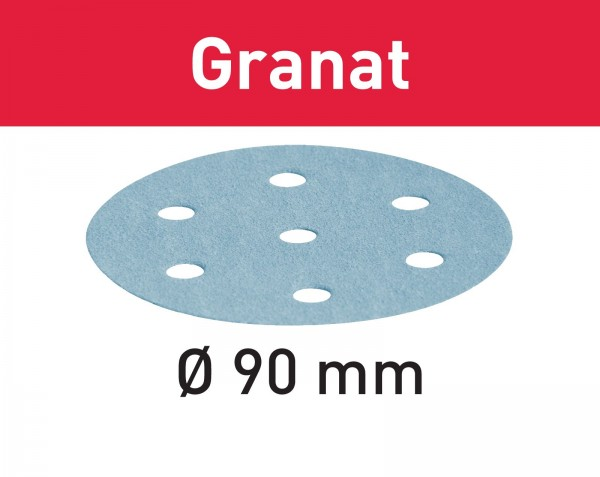 Festool Disco abrasivo Granat STF D90/6 P240 GR/100