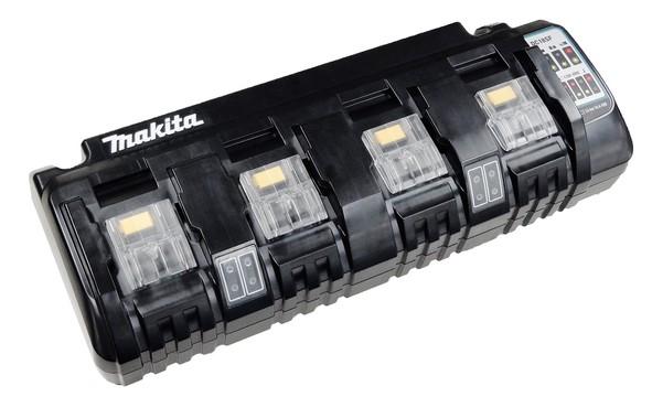 Makita DC18SF 4-fach-Ladegerät 14,4V und 18V