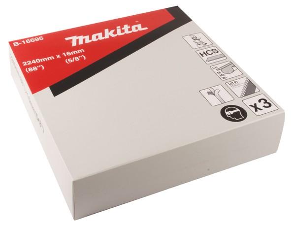 Makita Lama per sega a nastro 16x2.240mm 14D, 1 pezzo
