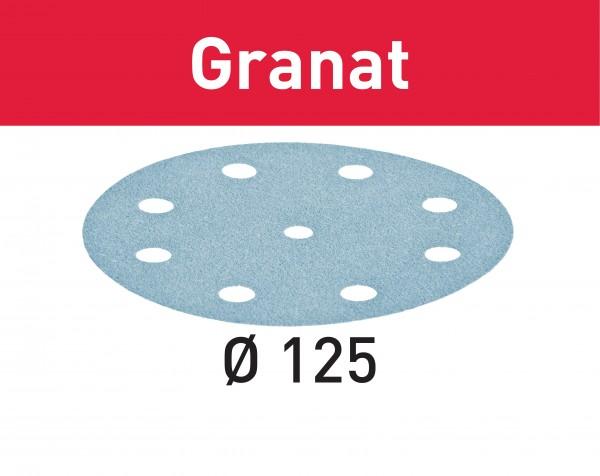 Festool Schleifscheibe Granat STF D125/8 P60 GR/50