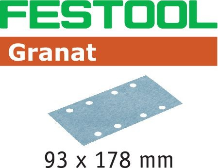 Festool Foglio abrasivo STF 93X178 P80 GR/50 Granat