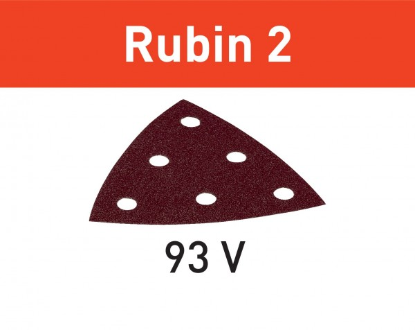 Festool Schleifblatt STF V93/6 P120 RU2/50 Rubin 2