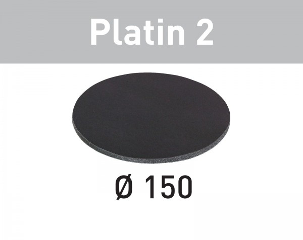 Festool Disco abrasivo Platin 2 STF D150/0 S4000 PL2/15