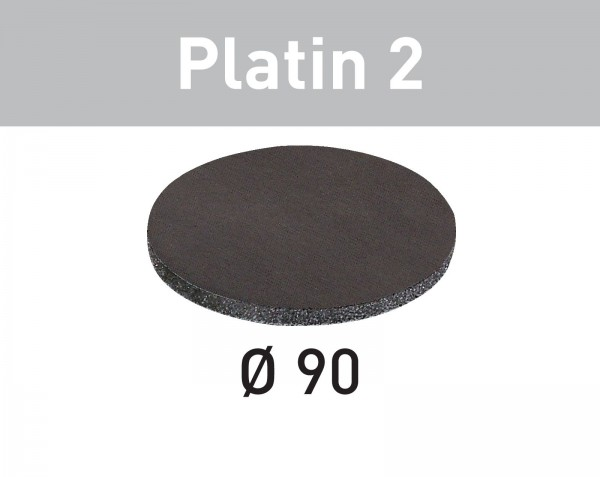 Festool Disco abrasivo Platin 2 STF D 90/0 S1000 PL2/15