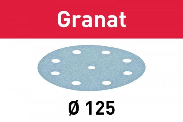 Festool Schleifscheibe Granat STF D125/8 P280 GR/100