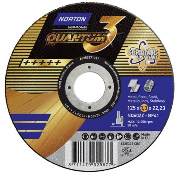 Norton Trennscheibe Quantum3 115x1,6x22.23mm