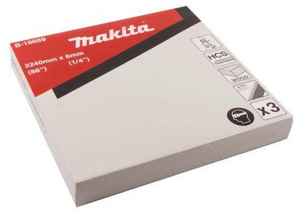 Makita Bandsägeblatt 8x2.240mm 6D, 1 pezzo